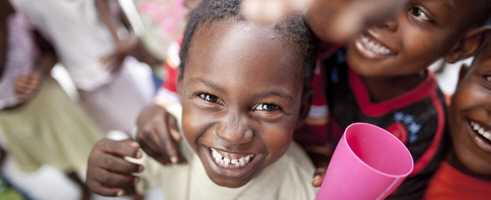 Children of a Kindernothilfe-project in Leogane / Haiti (Source: Jakob Studnar)