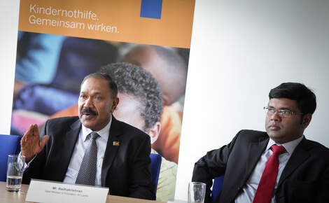 Press Release: Sri Lankan Education Minister visits Kindernothilfe