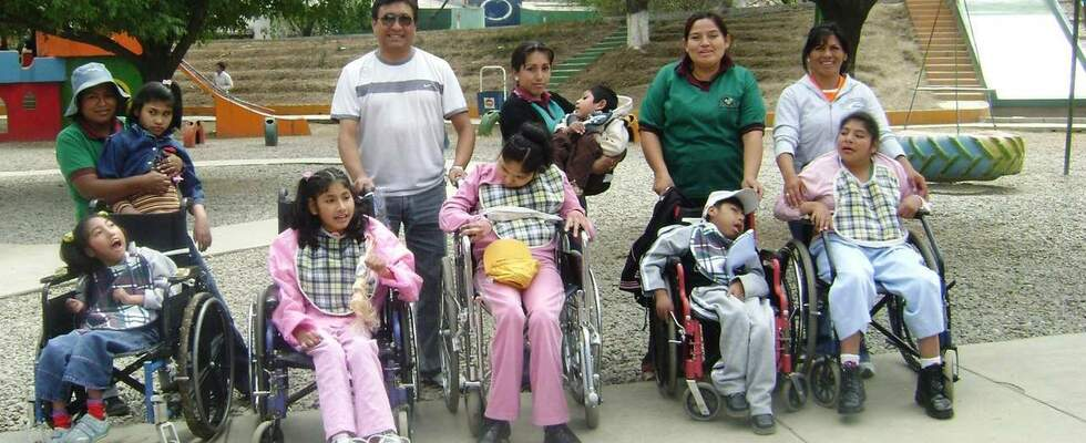 Children with disabilities in Bolivia. (Source: Kindernothilfe)